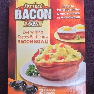 As seen on tv the perfect bacon bowl